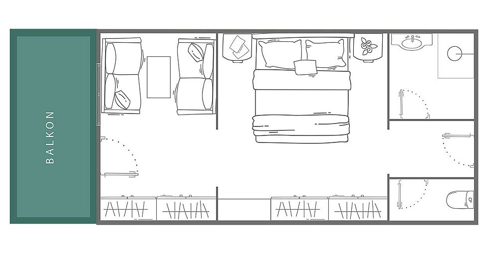 Doppelzimmer SÖLDEN